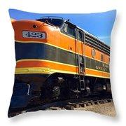 Wgn 423 #3 Throw Pillow
