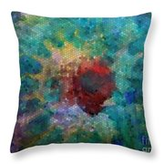 What A Bee Sees Throw Pillow