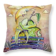 What A Lovely Pear Throw Pillow