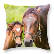 What A Pair Throw Pillow