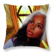 What A Vision Throw Pillow