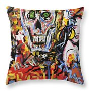 What A Wonderful Nightlife Throw Pillow
