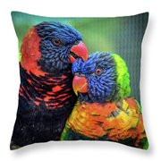 What Are Friends For? Throw Pillow