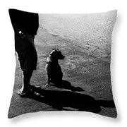 What Are We Looking At ? Throw Pillow