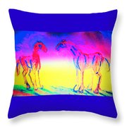 What Are We Waiting For Again  Throw Pillow
