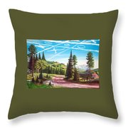 What Can The Poor Deer Do Throw Pillow