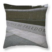 What Does Freedom Cost? Throw Pillow