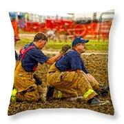 What Fire Throw Pillow