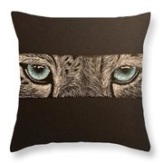 What I See Throw Pillow