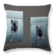 What Is That Dad .... Why It Is A Pay Phone Son Throw Pillow