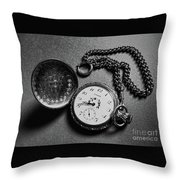 What Is The Time? Throw Pillow