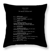What Is Thy Bidding Throw Pillow