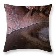 What Lies Behind The Corner 1  Throw Pillow