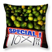 What Lime Shortage? #dontbelievethehype Throw Pillow