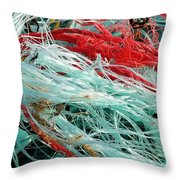What Makes Lobsters Smile Throw Pillow