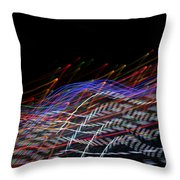 What Music Looks Like Throw Pillow