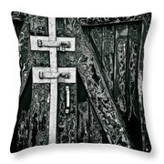 What Once Was Green... Throw Pillow