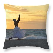 What Saves Our Life Throw Pillow