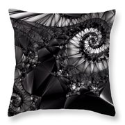 What Tangled Webs We Weave Throw Pillow