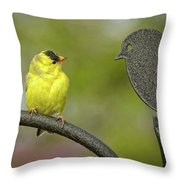 What The...??? Throw Pillow