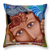 What The Mind Feels Throw Pillow