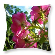 What The Roses See Throw Pillow