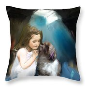What Truly Matters Throw Pillow