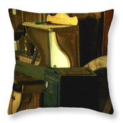 What We Saw In The Shed Throw Pillow