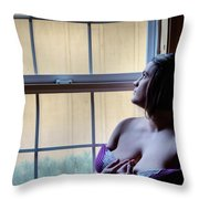 What Will Today Bring Throw Pillow