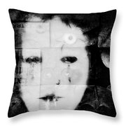 What You Have Done 2 Throw Pillow by Delight Worthyn