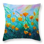 What'a Up Buttercup? Throw Pillow