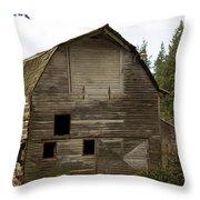 Whatcom Barn_mg_0808-edit- Throw Pillow