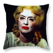 Whatever Happened To..... Throw Pillow