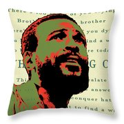 Whats Going On Throw Pillow