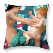 What's Love Got To Do With It Throw Pillow
