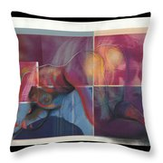 What's On The Artists Mind II Throw Pillow