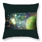 What's Out There Throw Pillow