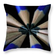 What's The Point Throw Pillow by Tracy Hall