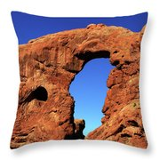 What's Through There Throw Pillow