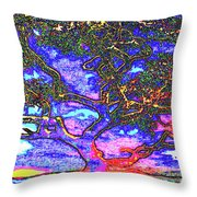 Whatwoods Tree Throw Pillow