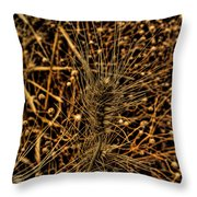 Wheat Throw Pillow