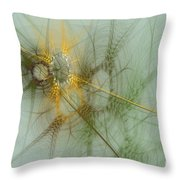 Wheat Design Throw Pillow