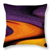 Wheat Field, Palouse Throw Pillow