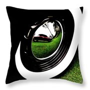 Wheel Art 2 Throw Pillow