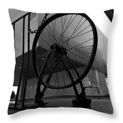 Wheel Art Throw Pillow
