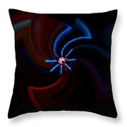 Wheel Throw Pillow