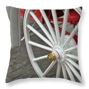 Wheel Motion Throw Pillow