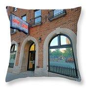 Wheeler Mission, Indianapolis Throw Pillow