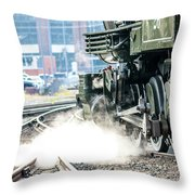 Wheels And Gears Engine 26 Throw Pillow