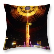 Wheels Of Wonder Throw Pillow